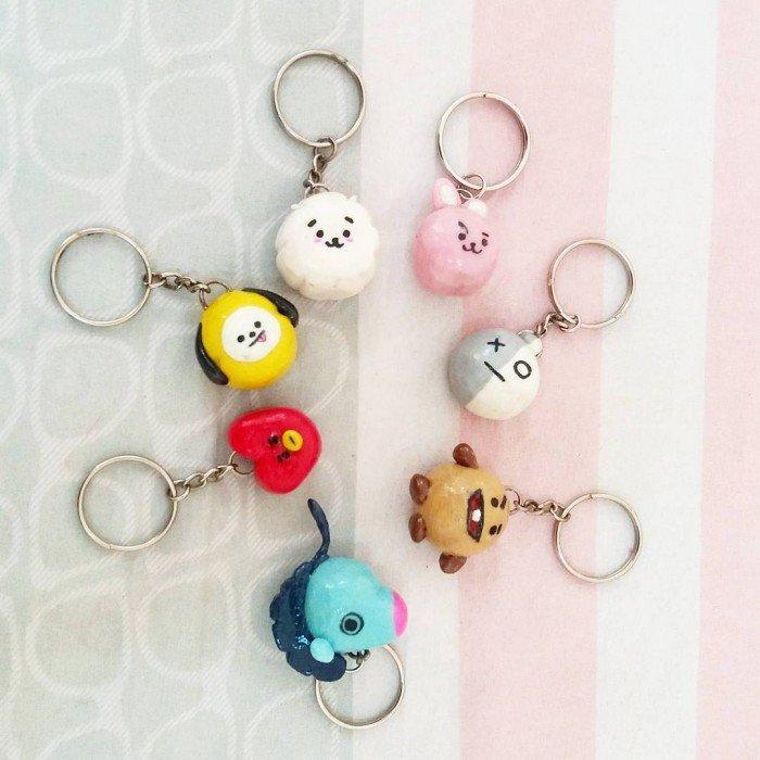 Móc chìa khóa dễ thương